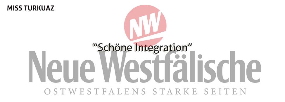 Schlagzeile in der Neue Westfälische